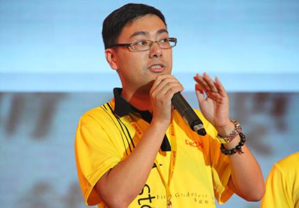 亚细亚磁砖杭州优秀经销商代表分享经验