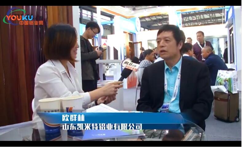 中国铝业网专访凯米特